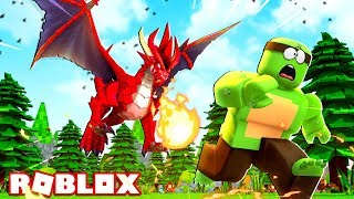 DRAGONS ATTACK IN ROBLOX!