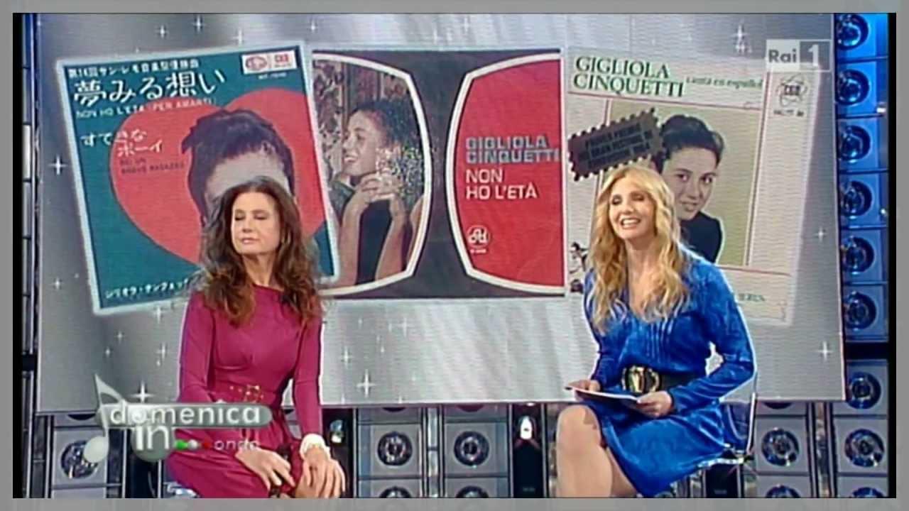 Gigliola Cinquetti - Non Ho L'Eta' Per Amarti