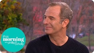 Robson Green Had to Leave the Grantchester Set for Laughing Too Much! | This Morning