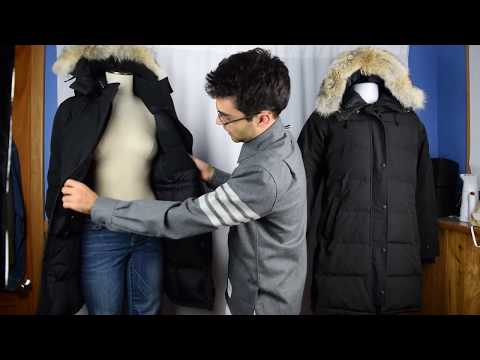 48b26f720922f Canada Goose Trillium vs Shelburne Parka--Comparison - YouTube