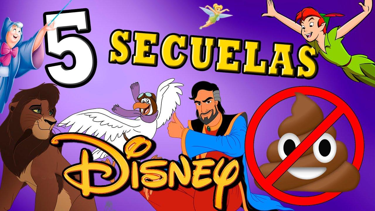 Download 5 secuelas Disney NO tan de 💩