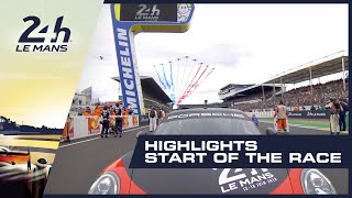 2019 24 Heures du Mans - HIGHLIGHTS - Start of the race