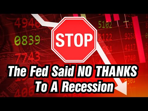 The Federal Reserve Will Never Allow A Recession. Here Is Why.