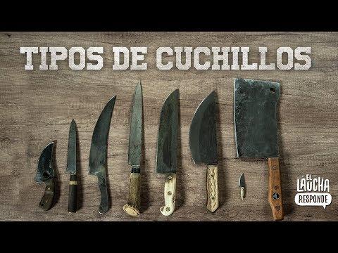TIPOS DE CUCHILLOS | El Laucha Responde