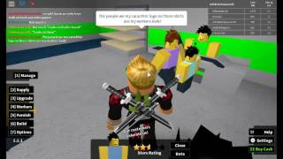 MY First Store Gamestop!!! Je pense? / Roblox Retail Tycoon #1