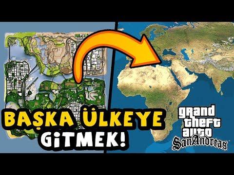 GTA SAN ANDREAS DA BAŞKA ÜLKEYE GİTMEK!