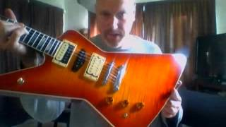 Mike Shishkov 'The Ultimate' guitar  (box opening)
