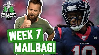 Fantasy Football 2019 - Week 7 Buy/Sell + TNF Preview, Mailbag! - Ep. #797