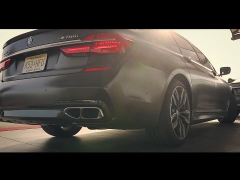 Самая быстрая серийная BMW в истории. M760Li.
