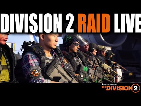 THE DIVISION 2 RAID GOING FOR PS4 WORLD'S FIRST
