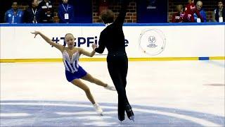 Анна Щеглова - Илья Калашников. Короткая программа. Baltic Cup. Гран-при по фигурному катанию