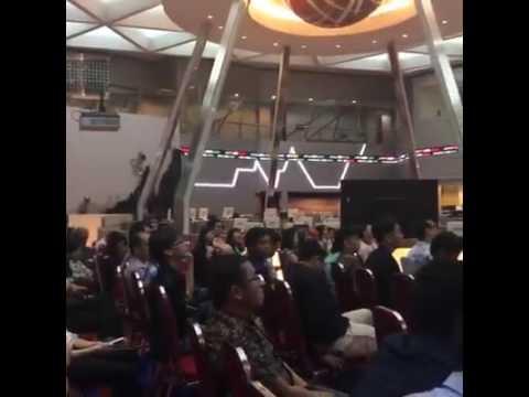 Zero to Billionaire Invesment Seminar @Bursa Efek Jakarta