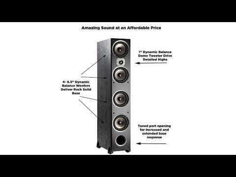 Must See !! Polk Audio Monitor 70 Series II Tower Speaker Short Review