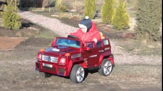 видео: Детская машина на аккумуляторе