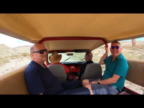 San Andreas Fault Jeep Tour with Stargazing - Video