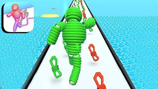 Rope-Man Run - All Levels Gameplay Android,ios (Levels 12-15) screenshot 3