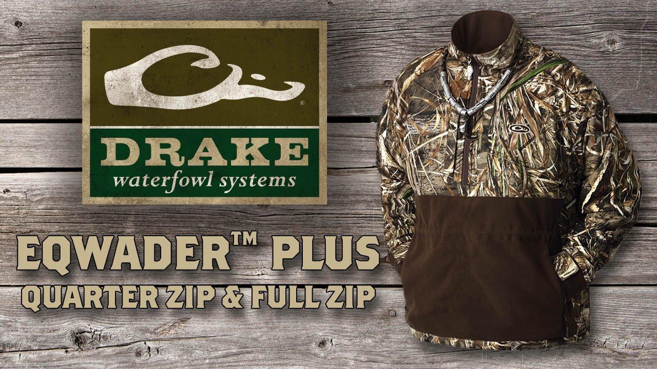 13b200dbc73eb Drake MST Eqwader Plus Full Zip Jacket | Waterfowl Jackets
