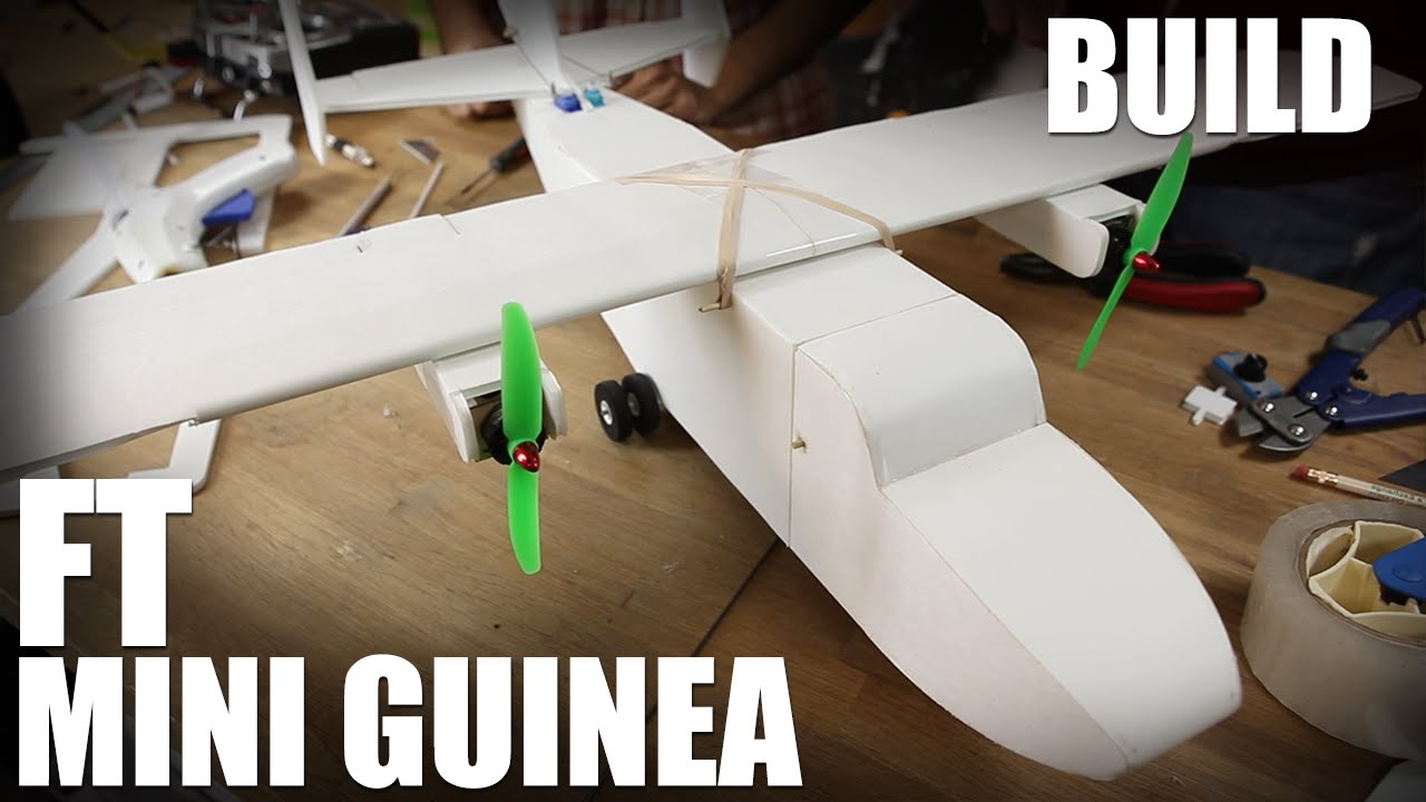 Cargo Airplane Guinea Speed Build Kit, Mighty Mini Serie by Flite Test