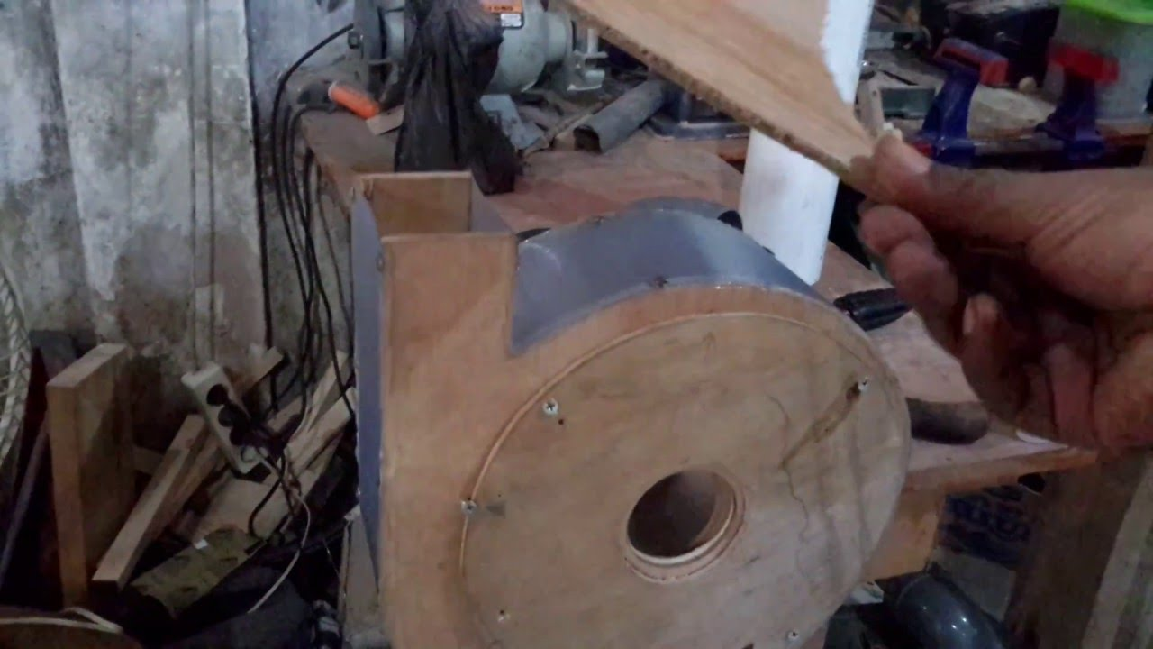 Dust Removal Fans : My ugly diy dust collector blower test youtube