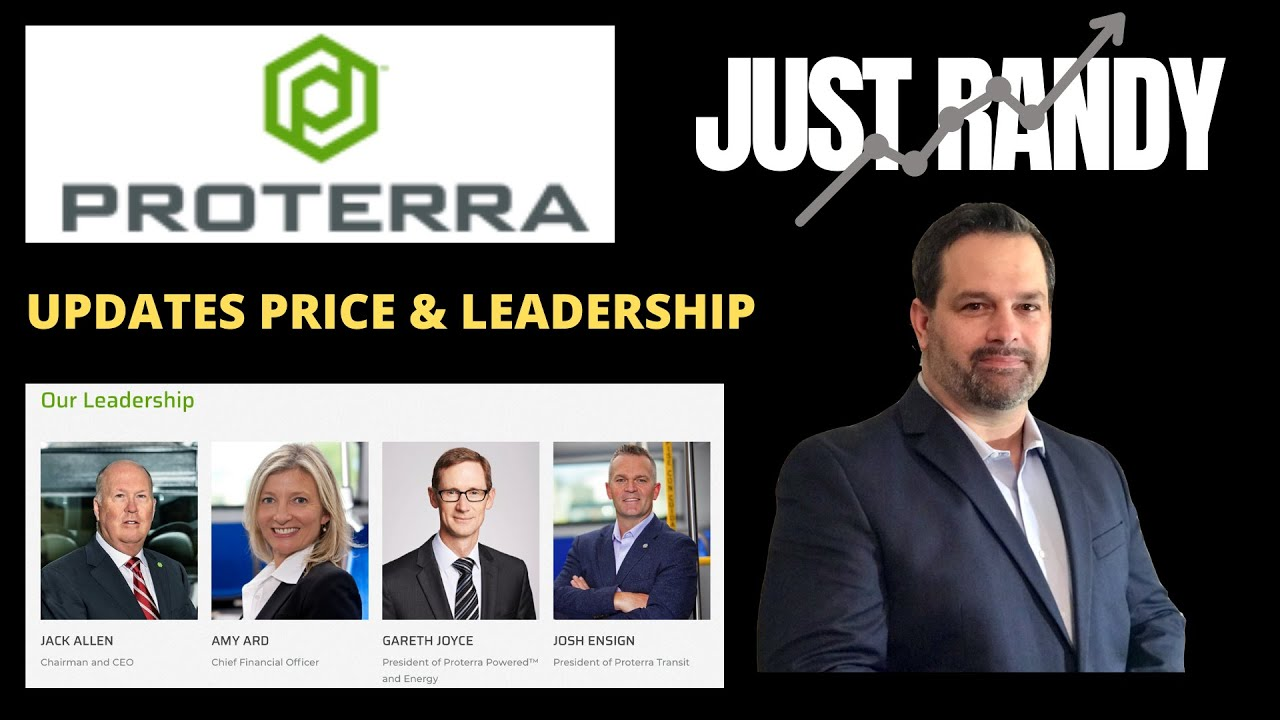 Download Is Proterra Going Lower Again, Price Updates And Leadership Changes - PTRA Stock