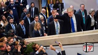 Donald Trump planta Cara a George Soros en Davos Suiza