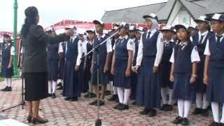 Lagu Indonesia Raya - Paduan Suara SMPN 1 Selat Kuala Kapuas