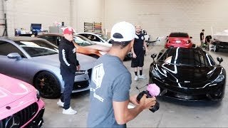 WRAPPING MY MCLAREN IN SOMETHING ONE OF A KIND! *GONNA BE INSANE*
