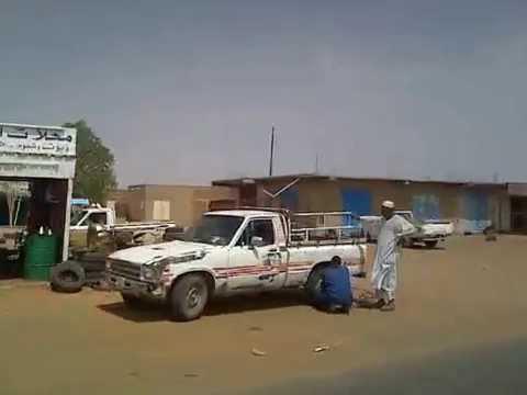 Road trip in Sudan