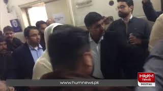 Maryam Nawaz's arrival in Jinnah hospital