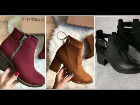 f57d91da6 أحدث موضة احذية شتوية Shoes for Winter 2019 - YouTube