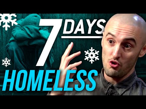 DAVID REES – HOMELESS FOR 7 DAYS PART 1/2 | London Real