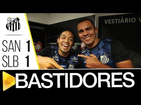 Santos 1 x 1 Benfica | BASTIDORES | #Vila100 (08/10/16)