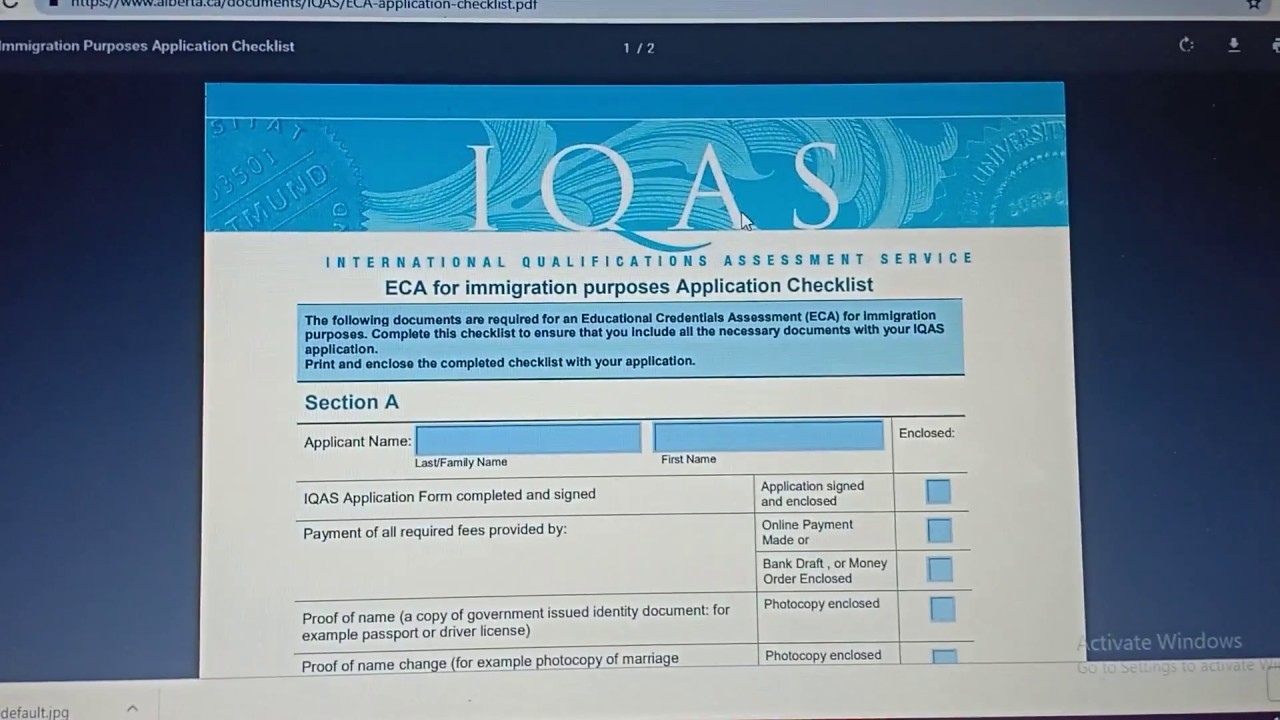 iqas processing time 2019