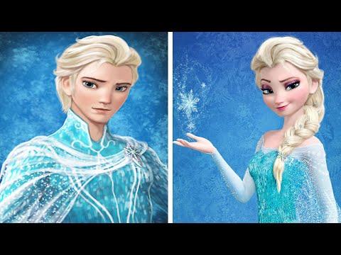 Si las princesas de disney fueran hombres yourepeat - Muebles de princesas disney ...
