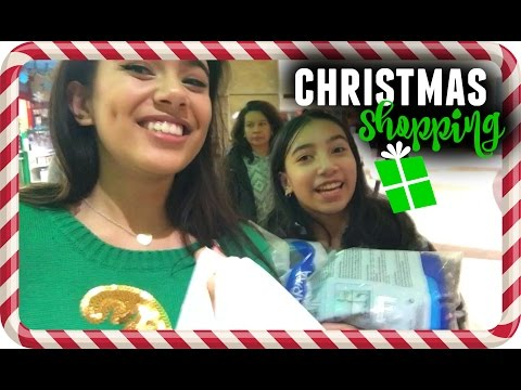 VLOGMAS #6❄️ CHRISTMAS SHOPPING!!