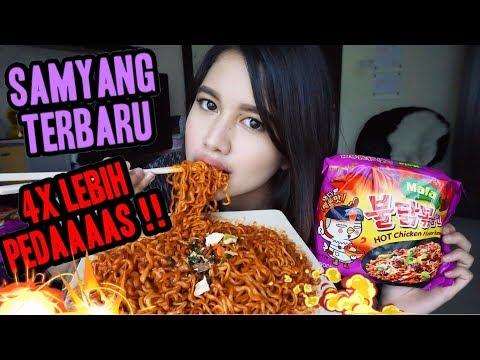 SAMYANG TERBARU! 4x LEBIH PEDAS!! | Samyang Mala Challenge & Mukbang