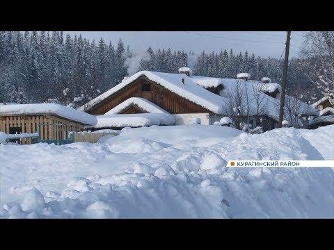 Замело по самые крыши: деревни и села на юге края оказались в снежном плену