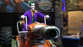 The Joker Animatronic for Six Flags Justice League Dark Ride IAAPA 2014