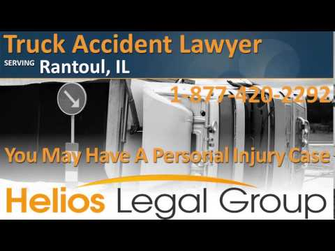 Rantoul Truck Accident Lawyer & Attorney - Illinois