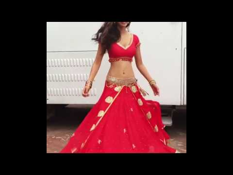Disha Patani Dancing So Beautifully In Sexy Indian Outfit Outside Her Vanity