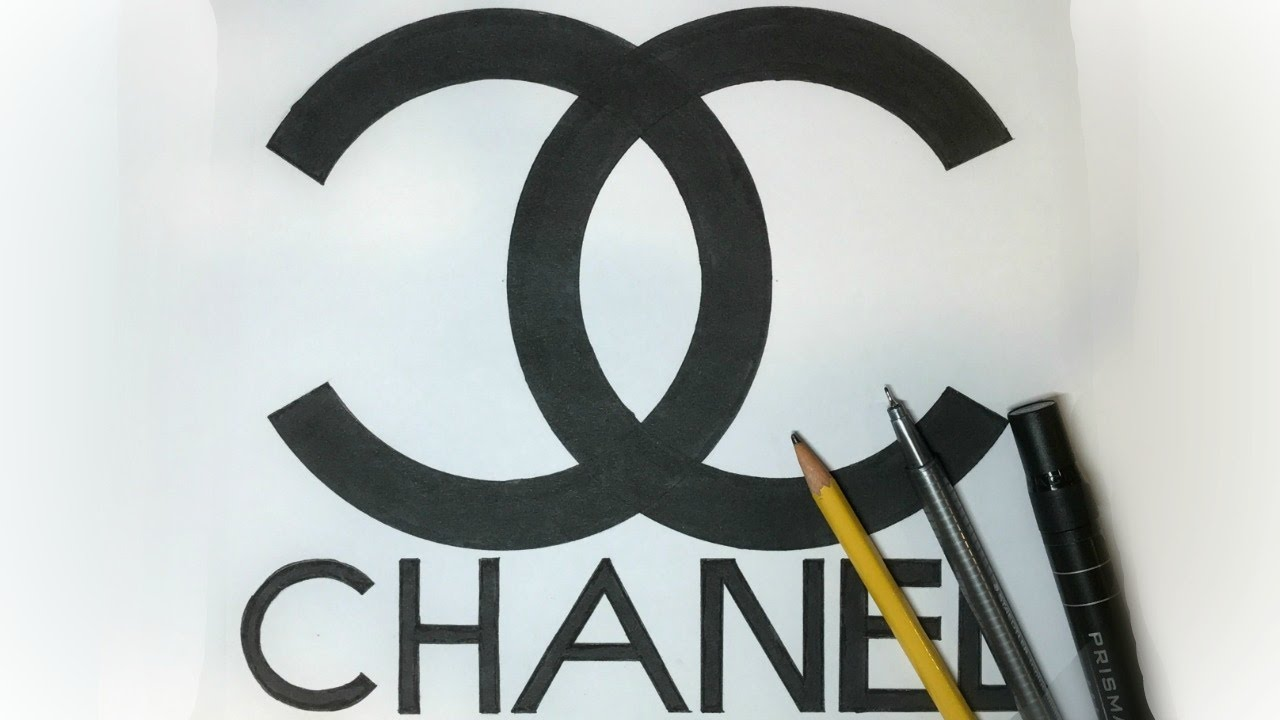 Chanel logo drawing images galleries for Draw my logo