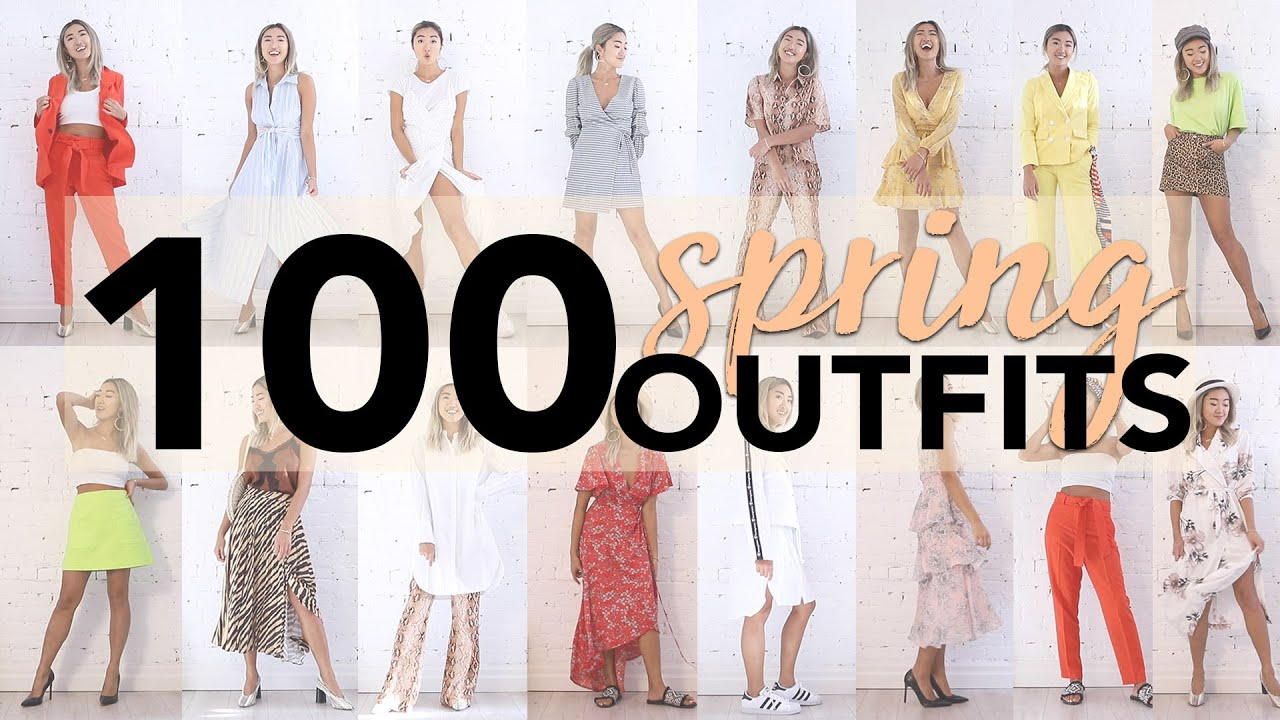 100 SPRING TRENDS OUTFIT IDEAS