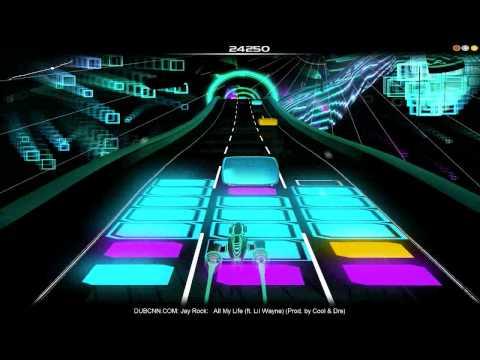 Audiosurf: Jay Rock - All My Life Ft. Lil Wayne.wmv