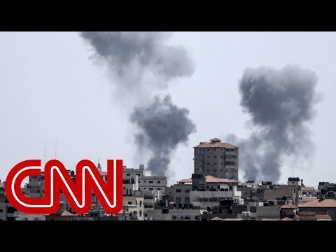 Israel responds to Gaza fire with dozens of airstrikes