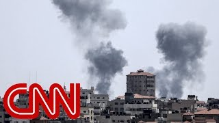 Israel responds to Gaza fire with dozens of airstrikes thumbnail
