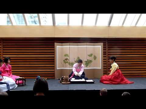 Korean Tea Ceremony - Toronto Tea Festival 2014