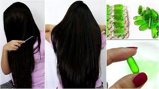 Vitamin - E hair serum for Frizz free, Shiny & Glossy Hair at home