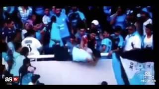 بالفيديو.. مصرع  مشجع في الدوري الأرجنتيني