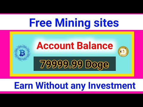Earn Daily $10|| Free Mining site || New Free Bitcoin Mining||New Dogecoin Mining site|| Free Mining