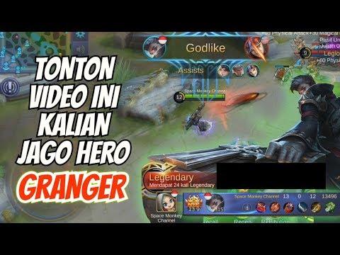 TUTORIAL HERO GRANGER MOBILE LEGENDS! GINI PAKEKNYA!! Build Tersakit, Combo Skill